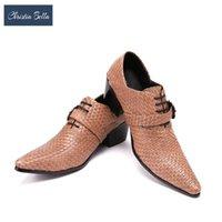 Обувь платье Кристиа Белла мужская мода тиснение натуральная кожаная пряжка Оксфорд Запатос Муджер Мужская костюм вечеринки деловые люди