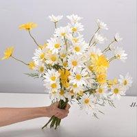 Украшение дома искусственная маргаритка один кусок 5 головы голландские хризантемы космос свадьба искусственный цветок букет цветов цветы dwb6097