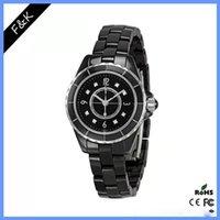Diamant CCJ12Watch Haute Qualité MS Quartz Regarder 32mm Mens 40mm Montres Fashion Dames Bande Céramique Horloge Relogio Montre