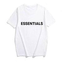 Mens Designer Tshirt 2020 Ankunft Herren Wesentliche Brief Druck Basis T-Shirt Oansatz Baumwolle Mode Straße Stil T-Shirt Dhbomc191