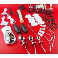 2019 Electro Penis стимулятор пениса петух кольцо анальный штекерные секс игрушки для мужчин электрические удары медицинские тематические члены кольцевые игрушки аксессуары