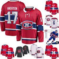 Josh Anderson Jersey Montréal Canadiens Jake Allen Shea Weber Jonathan Drouin Brendan Gallagher Jesperi Kotkaniemi Carey Prix Brett Kulak