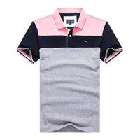 폴로 셔츠 고품질 CATO 짧은 Mouw 브랜드 Eden Park Summer 2021SS 남성 셔츠 대형 M-XXXL
