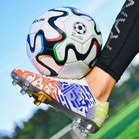 Zapatos de fútbol americano R Xjian Marca Hombres TF / FG Niños Niños de entrenamiento antideslizante 30-47 # 210809