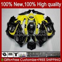 Corpo per Suzuki Katana GSX600F GSXF600 GSXF750 GSXF600 GSXF750 GSXF 600 750 cc 98 99 00 01 02 29NO.51 600CC 750CC GSX750F GSXF-600 GSX750F GSXF-600 GSXF-750 1998 1999 2000 2001 2002 carenatura giallo nero