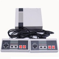 Portable Game Players Mini Games Console Classic Retro 8-bit Integrated 620 Pal & Ntsc Family Tv Player Hand Double Gamepads