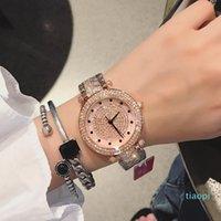 Relógios Produto Dimini Indústria Pesada Diamante Completo Requintado Relógio De Quartzo De Quartzo De Luxo Mulheres