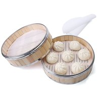 200pcs/lot 10 Size Silicone Steamer Pad High Temperature Resistant Thickened Silicone Pad Brush Free Oil Non Stick Steam Pad