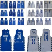 Erkekler Kentucky Wildcats Tyler Herro Jersey Tyrese Maxey John Wall Anthony 23 Davis Demarcus 15 Kuzenler Malik Monk Koleji Basketbol Formaları