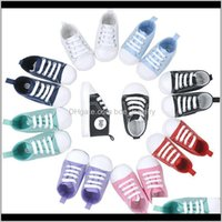 Baby, & Maternity Drop Delivery 2021 Born Baby Canvas First Walkers Shoes Spring Autumn Boys Girls Kids Infant Toddler Classic Sports Sneaker
