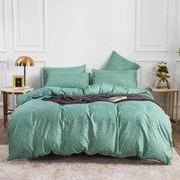 Ensembles de literie Imprimé léopard Soild Color Set 2/3 PCS Couette de lit pour une couverture de Pourse en noir et blanc de la maison