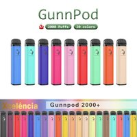 gunnpod disposables vape 전자 담배 장치 키트 2000 퍼프 1250mAh 배터리 미리 페로 된 8ml 포드 스틱 펜 도매