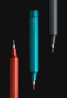 Оригинал youpin Hoto 24 в 1 прецизионные отвертки-отвертки алюминиевый сплав магнитный бит для хранения ручек портативный портативный QWLSD004 электрическая отвертка 24Мела стальных битов