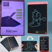"""8.5 """"LCD 작성 태블릿 드로잉 보드 칠판 필기 패드 성인을위한 선물 키즈 종이없는 메모장 태블릿 메모 업그레이드 된 펜"""