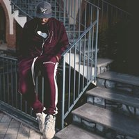 Mens casual pants size 38 fear of god essentials fog essential autumn outdoor sports men striped bundled leggings