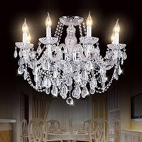 Moderne K9 Luxus Kristall Kronleuchter Wohnzimmer Lampe Home Beleuchtung Leuchte Große Lüster de Cristal