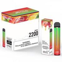 Kangvape Onee عصا المتاح Vape Pen Kit 1100mAh 1900 2200 نفث 6.2 مل خرطوشة Alphaa Plus Bang XXL Air Bar Lux