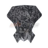 Motorcycle Black Windscreen Wind Shield Cover For Kawasaki Z900 z900rs 2017-2019 Full Forged Carbon Fiber
