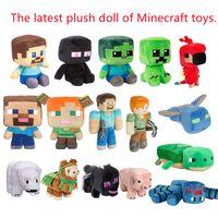 Minecraft brinquedos os últimos modelos de pelúcia bonecas, assustador ender dragão dragão atacado