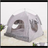 Furniture Cat Supplies Home Garden Soft Nest Kennel Cave House Sleeping Bag Mat Pad Tent Pets Winter Warm Cozy Beds Sxl 2 Colors Pet B