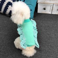 Spring Autumn Dog Hoodies Small Clothes T-shirt Coat Outfit Yorkshire Poodle Bichon Pomeranian Schnauzer Puppy Costumes