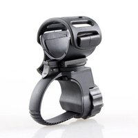 Bike Lights Bicycle Lamp Holder Universal 360 Degree Rotating Cycling Torch Clamp Clip Bracket Accessories