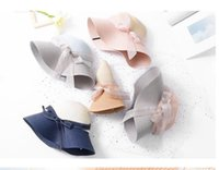 Caps Aessoriescaps Hats, Scarves & Gloves Fashion Aessories Women Sun Hats Hand Made St Female Bow-Knot Wide Brim Beach Hat Casual Summer Ca