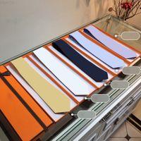 Corbata de seda de alta gama Diseño de moda Mens Business Lazs de seda Corbatas Jacquard Empresar corbata Boda Neckwear288nd
