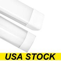 EE.UU. Stockf 4ft Shop Light Fixture 54W LED luces de tubo 5400lm 6000k 4000k 3000k 3 Temperaturas de color Lightss Lights 120 cm Garaje Armario Iluminación para el sótano de la oficina