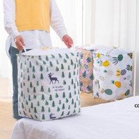 Lagerkorb für Schmutzige Kleidung Haushaltsspeicher Box Spielzeug Eimer Stoff Falten mit Strahl Mund Wäsche Aufbewahrungskörbe DHB9123