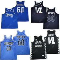 CREENSHAW HOMBRES 60 Nipsey Hussle Victory Lap Cover Hip Hop Rap Basketball Jersey Sports Sports Sports