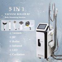 Infrared Light+Roller Body Shaping Cavi Liposuction Cavitation Skin Tightening Vacuum RF Slimming Machine