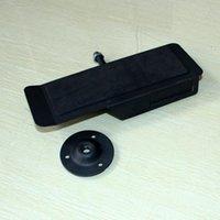 Metall-obere Wandschuhe Display-Ständer-Racks-Winkelanpassung Schuhhalterung Halter mit rutschbarem Gummiauflage