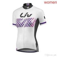 2018 Женщины 8 Стиль Лив, Велоспорт Джерси Коротканый Рукав Команда Лето Лив Велосипед Велосипед Спорт ROPA Maillot Ciclismo L1202