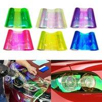 30x120cm 자동차 헤드 라이트 테일리트 틴트 비닐 필름 스티커 자동차 안개 가벼운 후면 램프 비닐 스티커 컬러 헤드 라이트 보호 필름