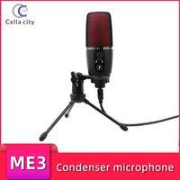 USB Condensador Microfone Professional Sound Computer Studio Equipamento Conferência Gravação Mic para Micro Microfones