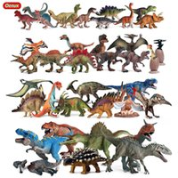 OENUX DINOSAURS MUNDIAL PARK FIGURAS DE ACCIÓN Jurassic Indominus Rex Pterosaurio Stegosaurus Animales Modelo PVC Colección Niño Juguete Regalo