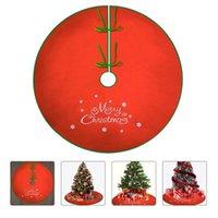 Christmas Decorations 1 Pc Tree Cloth Apron Fashionable Floor Carpet Ornaments