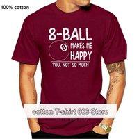 Camicia da uomo T-shirt da uomo Camicia da piscina 8 La palla mi rende felice che non sei tanta camicia, maglietta, regali da biliardo