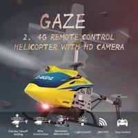Drohnen JJRC JX03 Fernbedienung Hubschrauber RC HD-Kamera 720P 2.4G 4CH Flugzeug Wifi Luftaufnahme wie Kinderspielzeug Helicoptero