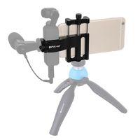 Para DJI Osmo Pocket Cámara de bolsillo soporte de teléfono móvil conjunto de soporte fijo Soporte de aluminio Soporte Estabilizador estabilizador estabilizadores