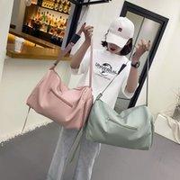 Duffel Bags Women Travel Large Capacity Hand Duffle Bag Fashion Sports Gym Yoga Pack Weekend Shoulder Shoe Packing Cubes