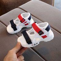 summer children's sandals baby toddler shoes girls beach shoes soft bottom non-slip boys sports sandals leisure 21-30 210729