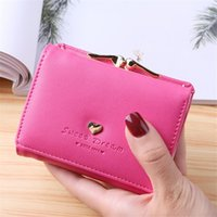 Wallets Mini Womens And Purses Short Small Women Wallet Hasp Clutch Designer Purse