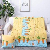 Cuscino / cuscino decorativo 2 in 1 auto stampa multifunzione pieghevole telaio quadrato a casa ufficio climatizzazione trapunta cuote di pisolino caldo
