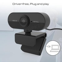 Full HD Webcam PC Camera 1080P with Microphone Youtube Online Meeting Chat USB Web Cam Plug and Play Computer Cameras