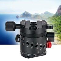 DH-55 rotator de indexação HDR panorama panorâmico bola de bola para câmera tripé liga de alumínio 1/4 de polegada placa de libertação rápida11