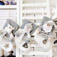 Christmas Socks Gift Bag Santa Pendant Decoration Christmas Gifts Party Festival Decoration Gift Bag