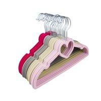 Cabideiras de aço inoxidável de borracha colorida para roupas PEGs Antiskid Secador de secagem de toalha de plástico Cachecol de cinto de armário