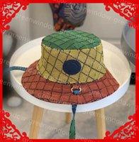 الرجال النساء مصممين دلو القبعات قوس قزح الأزياء متعدد الألوان إلكتروني كامل البيسبول كاب casquette قبعة فوبرا فيدورا جاهزة قبعات Sunhat sombrero 3dqq